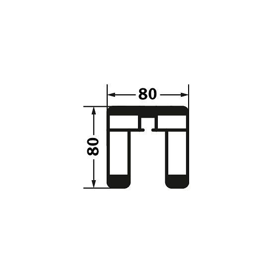 Sport-Thieme Volleyball-Pfosten 80x80 mm Mit Spindelspannvorrichtung