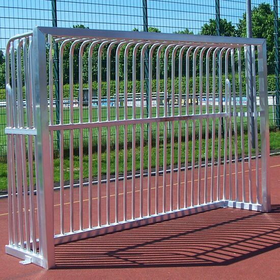 Sport-Thieme Vollverschweißtes Bolzplatztor Quadratprofil 80x80 mm, 300x200x70 cm