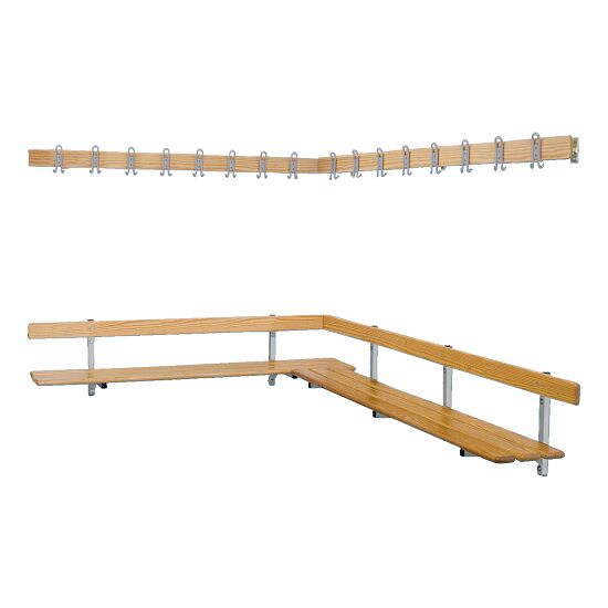 Sport-Thieme® Wall-Mounted Changing Room Bench