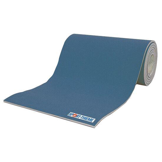 Sport-Thieme® Wettkampf-Bodenturnfläche 12x12 m Blau, 25 mm, 1,5 m breit