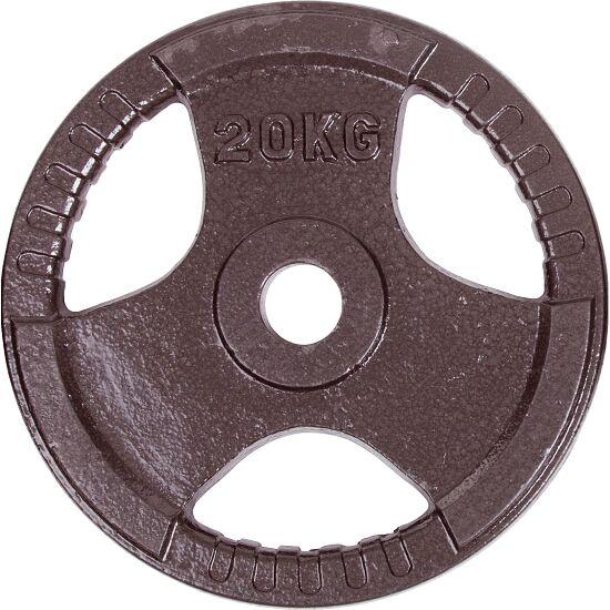 Sport-Thieme® Wettkampf-Guss-Hantelscheibe 20 kg