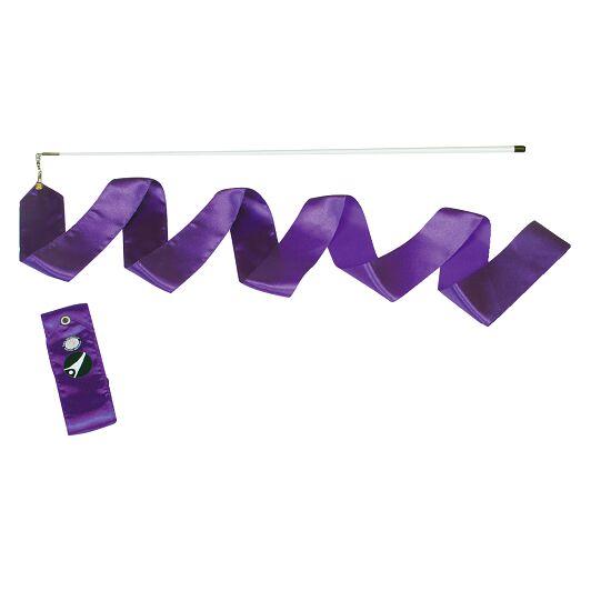 Sport-Thieme® Wettkampf-Gymnastikband 4 m mit Stab Violett
