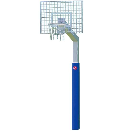 "Sport-Thieme with ""Fair Play Silent"" Chain Net Basketball Unit ""Outdoor"" hoop, 120x90 cm"