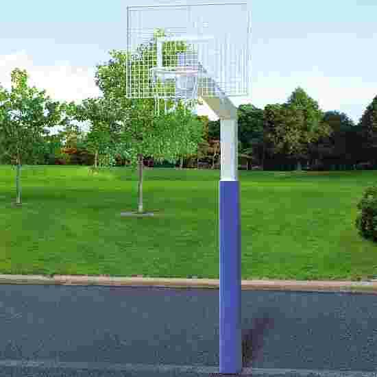 "Sport-Thieme with ""Fair Play Silent"" Chain Net Basketball Unit ""Outdoor"" hoop, 120x90 cm"