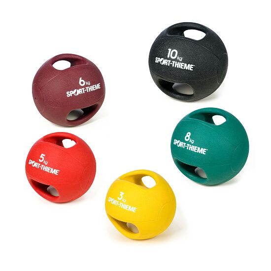Sport-Thieme with Handle Medicine Ball 10 kg, black