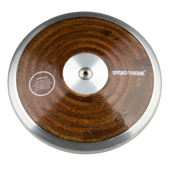 "Sport-Thieme® ""Wood"" Competition Discus 1.5 kg"