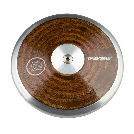 "Sport-Thieme® ""Wood"" Competition Discus 0.75 kg"