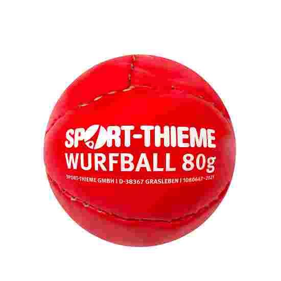 """Sport-Thieme Wurfball """"Leder 80"""" Rot"""