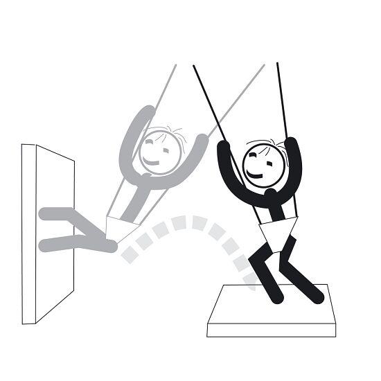"Sport-Thieme® XTENSi® Bungee Swing ""Universal"""