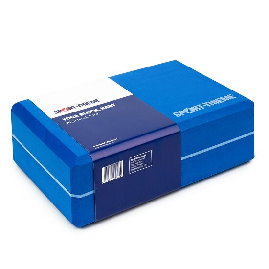 "Sport-Thieme Yoga-Block ""Triple"" Hart, Blau"