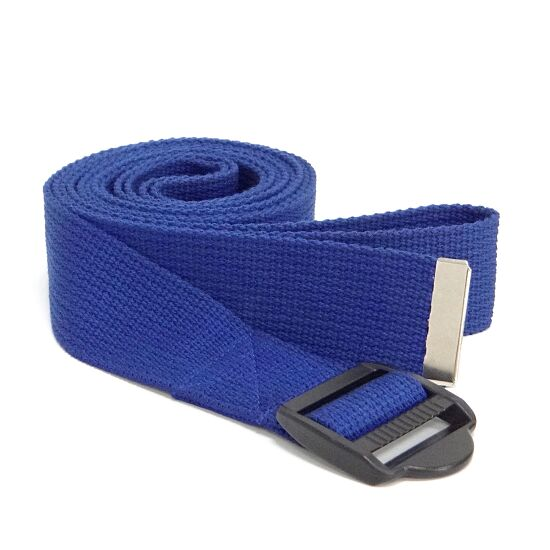 Sport-Thieme® Yoga Gurt Baumwolle Blau