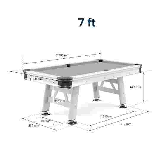 """Sportime® """"Outdoor"""" Pool Table 7 ft"""