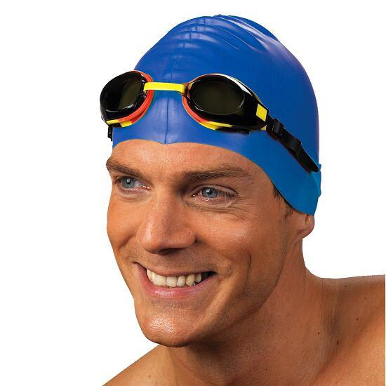 Sportssvømmehætte af latex Blå