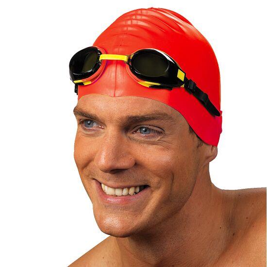 Sportssvømmehætte af latex Rød