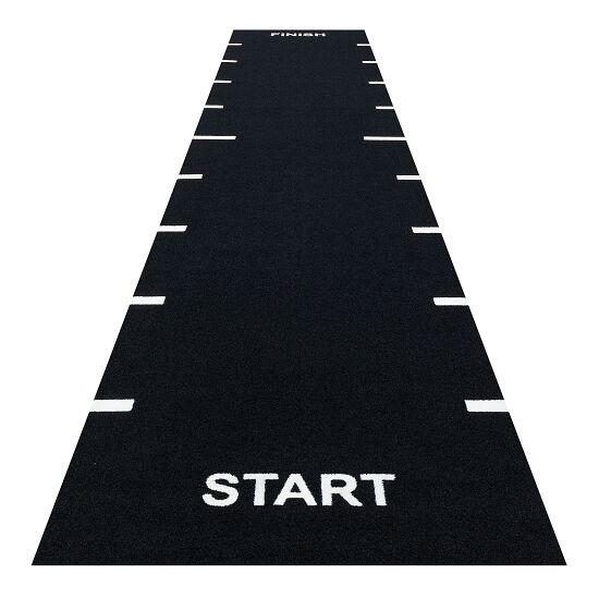 "Sprint Tracks Kunstrasen-Laufbahn ""Start & Finish"" 2x15 m, Schwarz"