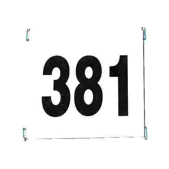 Startnummer af rivfast papir Sæt 1-100