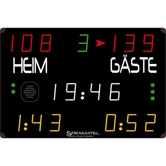 "Stramatel® Anzeigetafel ""452 MS 7000"" Funkbetrieb"