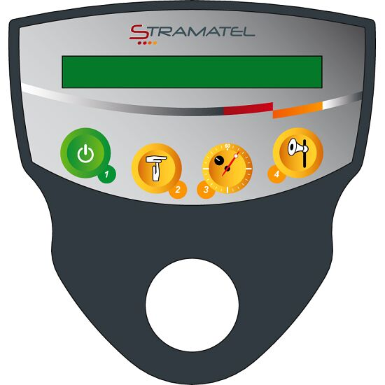 "Stramatel® Anzeigetafel ""452 MS 7100"" Funkbetrieb"