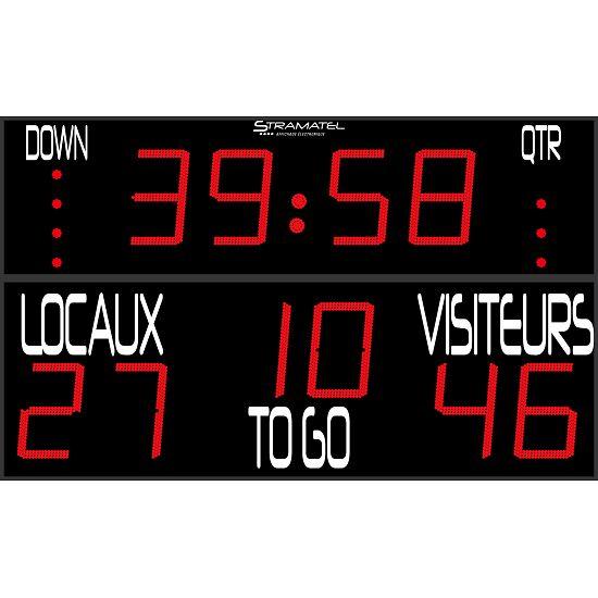 "Stramatel® ""FRC US Football"" American Football Scoreboard"