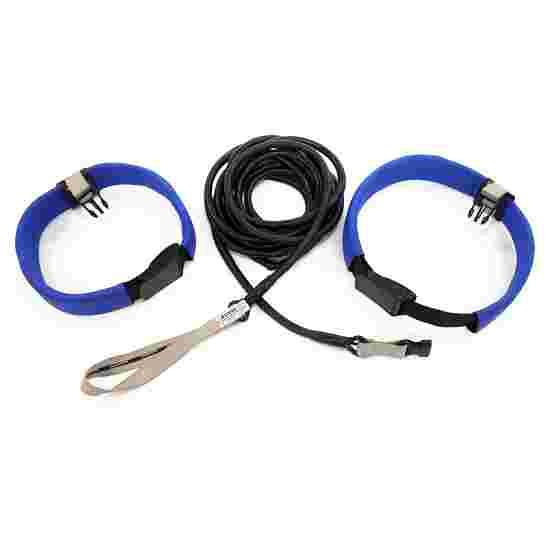 StrechCordz Aqua-Gym Long-Belt Silber, Zugstärke 1,3-3,6 kg