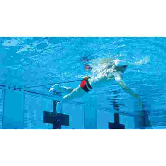 StrechCordz Aqua-Gym Short Belt Green, resistance 3.6–10.8 kg