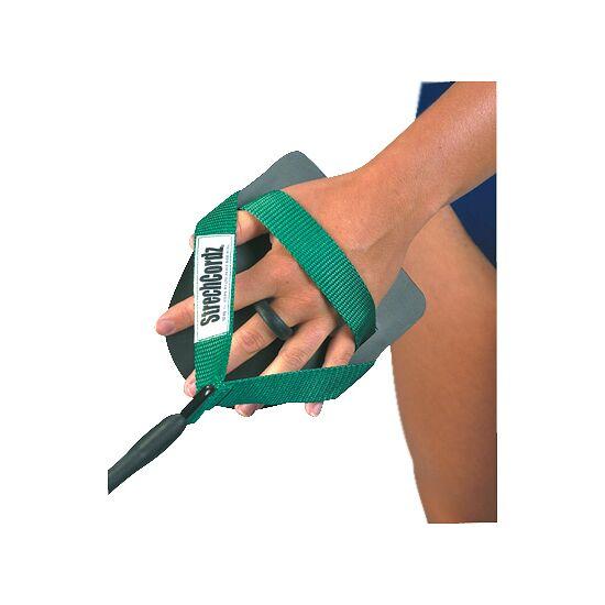 StrechCordz® med handpaddels Grøn, trækstyrke: 3,6 - 10,8 kg.
