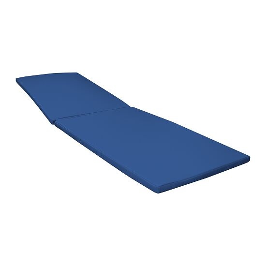 Sun lounger cushion Blue