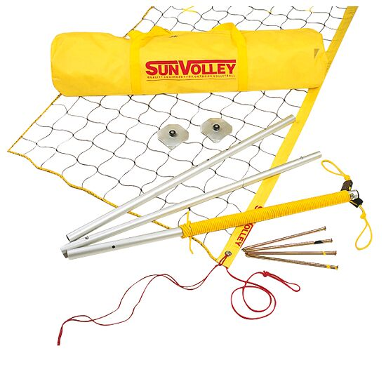 """SunVolley® """"LC"""" Beach Volleyball Set  Without court marking"""