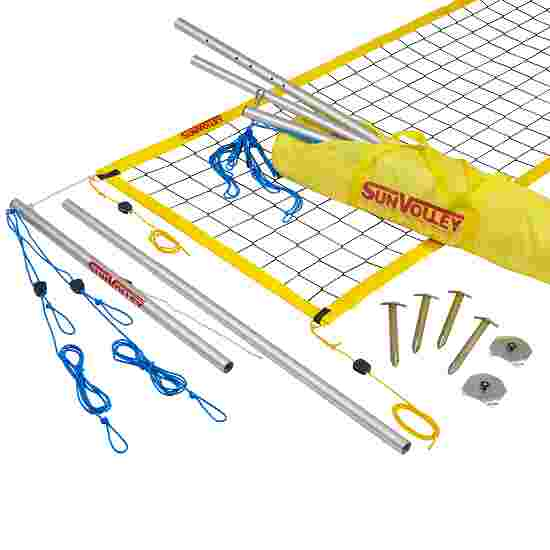 """SunVolley """"Standard"""" Beach Volleyball Set Without court marking, 8.5 m"""