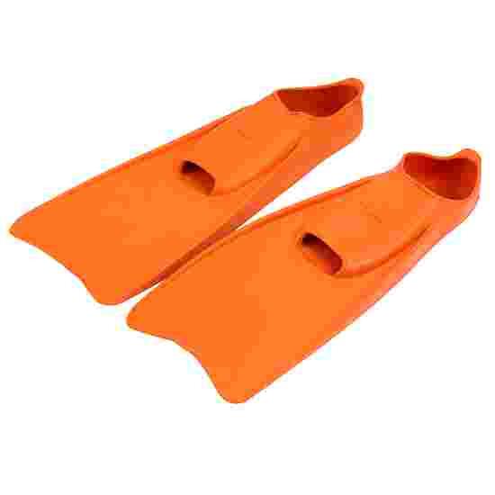 Svømmefødder af gummi 34-35, L:36 cm, orange