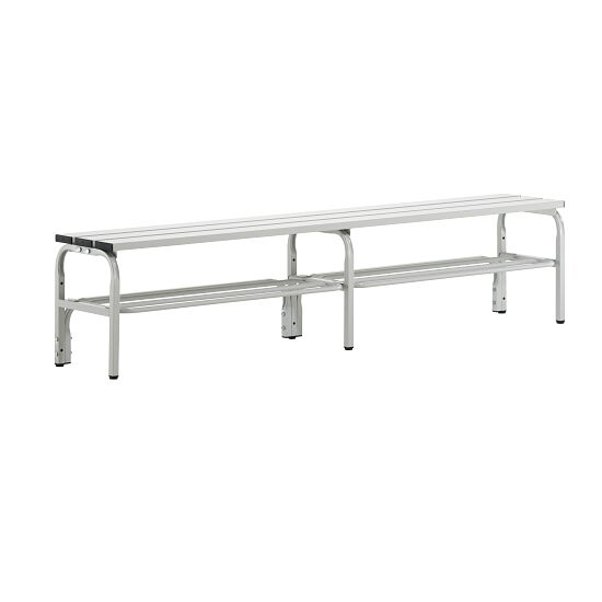Sypro Wolf Changing Bench for Damp Areas without Backrest 2.00 m, With shoe shelf