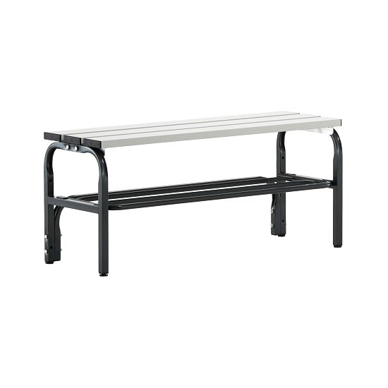 Sypro Wolf® Changing Bench for Damp Areas without Backrest 1.01 m, With shoe shelf