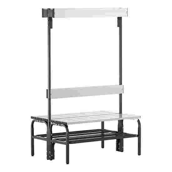 Sypro Wolf Damp Area Changing Bench with Double-Sided Backrest 1.01 m, With shoe shelf