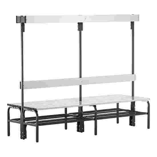 Sypro Wolf Damp Area Changing Bench with Double-Sided Backrest 1.50 m, With shoe shelf