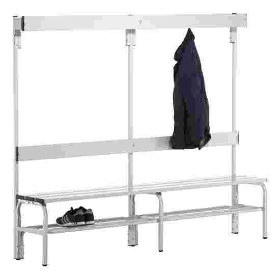 Sypro Wolf Wet Area Changing Bench with Backrest 2.00 m, With shoe shelf