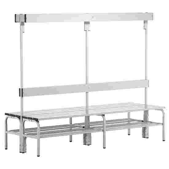 Sypro Wolf Wet Area Changing Benches with Double Backrest 1.50 m, With shoe shelf