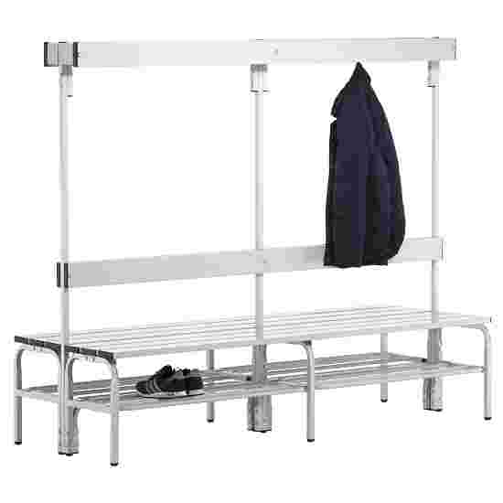 Sypro Wolf Wet Area Changing Benches with Double Backrest 2.00 m, With shoe shelf