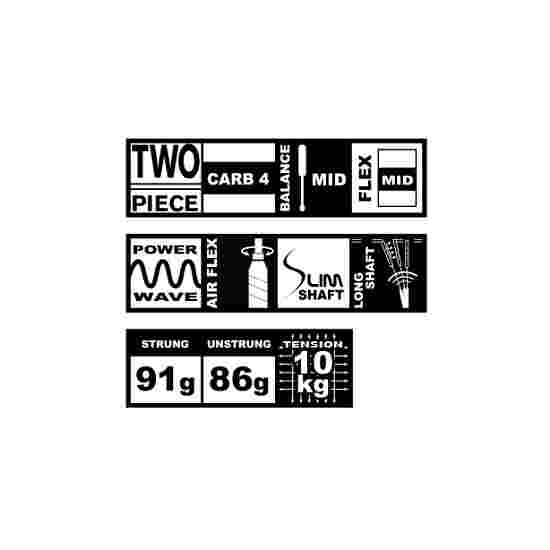 "Talbot Torro Badmintonschläger  ""Isoforce 651.8"""