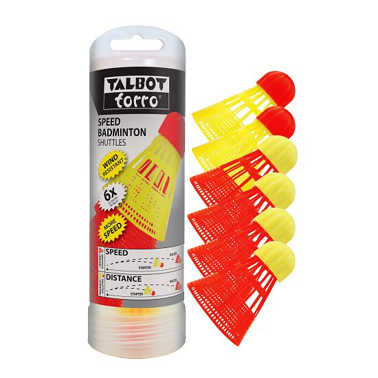 "Talbot Torro Speed-Badminton Ball-Set ""Aerospeed"""