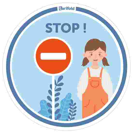 "Tarifold Aufkleber ""Kindergarten & Schule"" Stopp"
