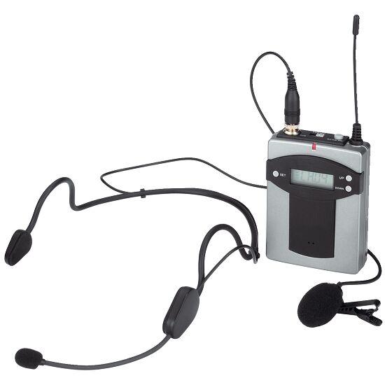 Taschensender mit 2 Mikrofonen