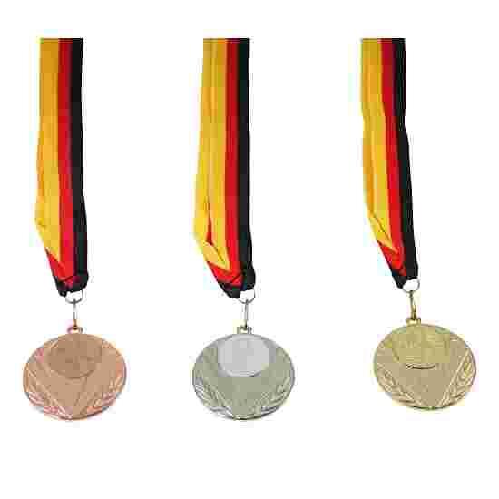 "Teilnehmer Medaillen-Set ""Elegant"", inkl. Medaillenband Set mit 25 Medaillen, Gold"