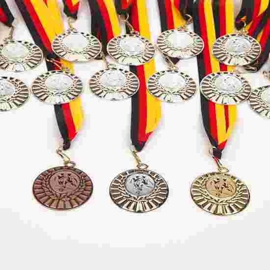 """Teilnehmer Medaillen-Set """"Winner"""", inkl. Medaillenband Set mit 25 Medaillen, Gold"""