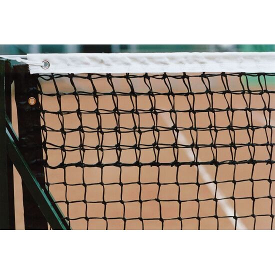 Tennisnetz Doppelreihen, Ringsherum eingefasst