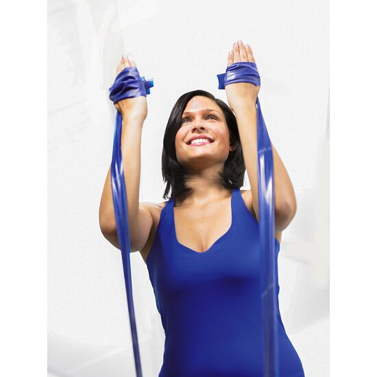 Thera-Band® 250 cm in Reißverschlusstasche Blau, extra stark