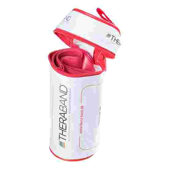 Thera-Band 250 cm. i pose med lynlås Rød, medium
