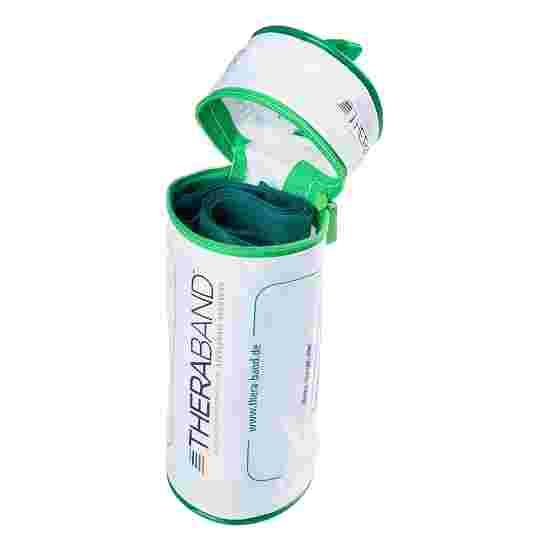 Thera-Band 250 cm. i pose med lynlås Grøn, stærk