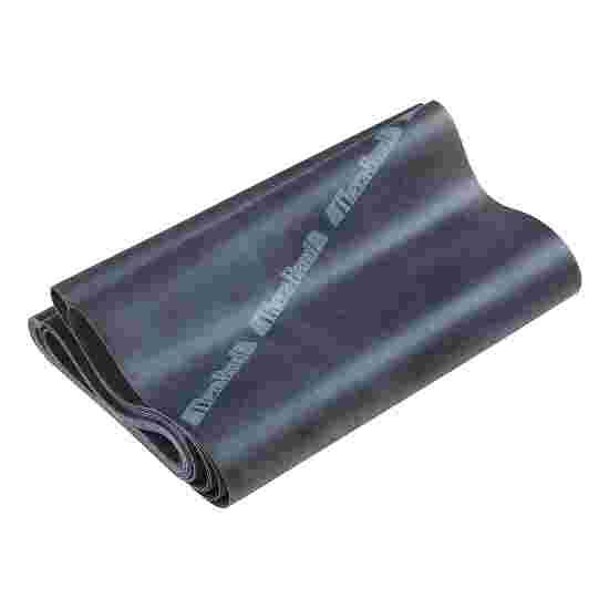 Thera-Band 250 cm. i pose med lynlås Sort, særdeles stærk