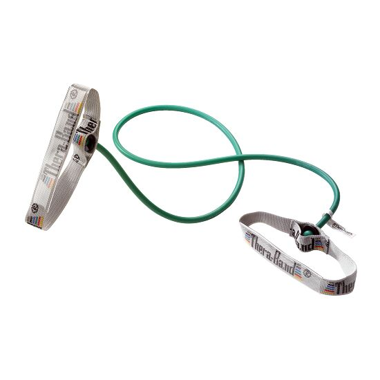 Thera-Band® Bodytrainer Resistance Tube, 1.4 m with Handles Green, high
