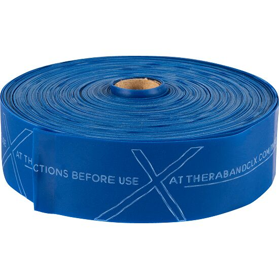 Thera-Band® CLX Band, 22 m Rolle Blau, extra stark